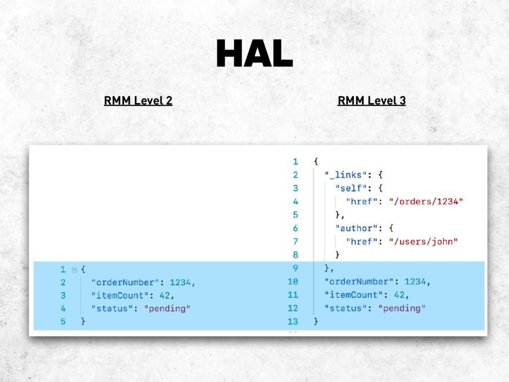 HAL RMM Level 2 RMM Level 3