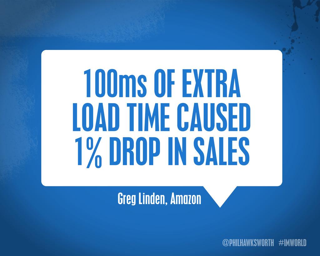 @PHILHAWKSWORTH #IMWORLD Greg Linden, Amazon 10...