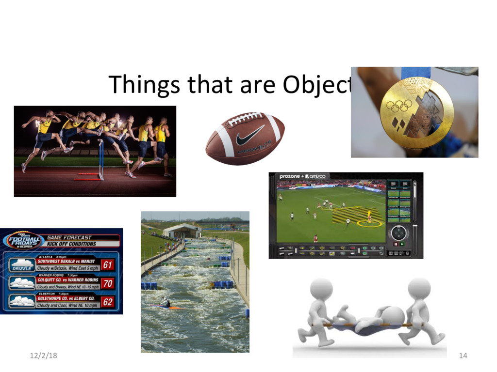 Things that are Objective 12/2/18 14