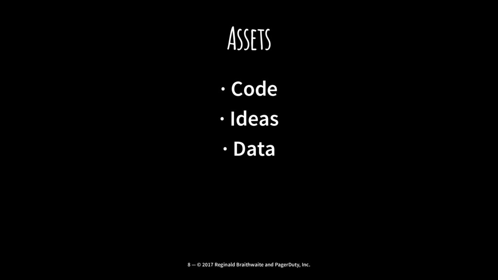 Assets · Code · Ideas · Data 8 — © 2017 Reginal...