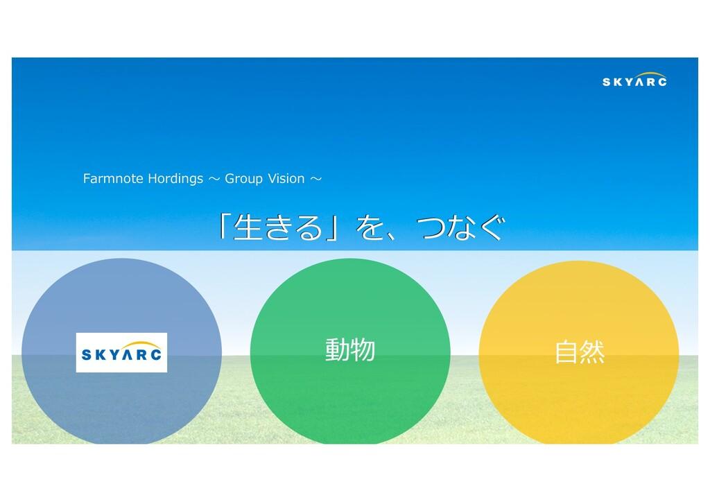 Copyright (C) SKYARC Co., Ltd. 8 「⽣きる」を、つなぐ ⼈ 動...