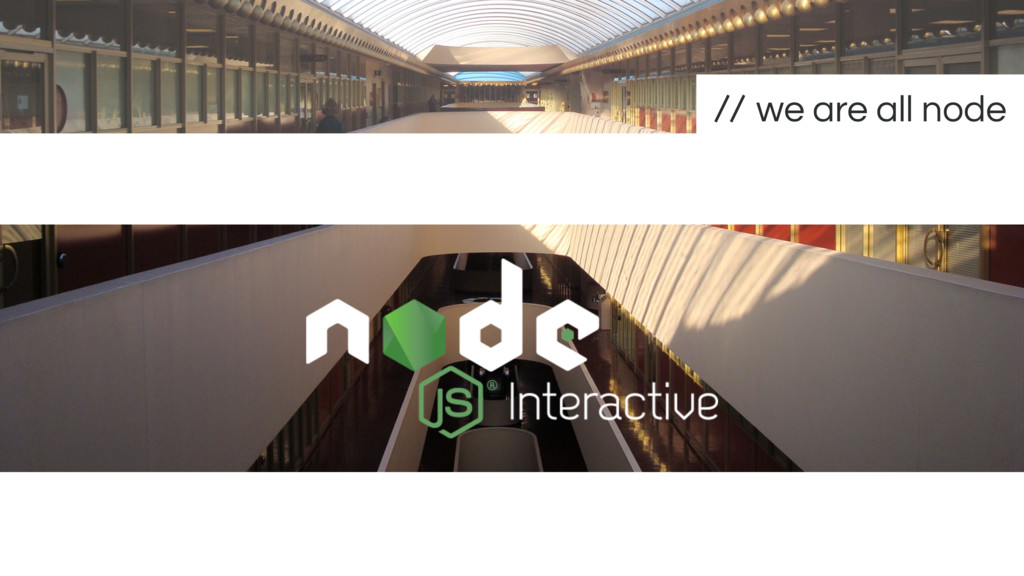 we are all node