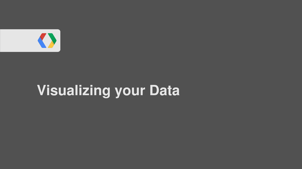 Visualizing your Data