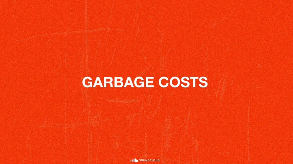 GARBAGE COSTS