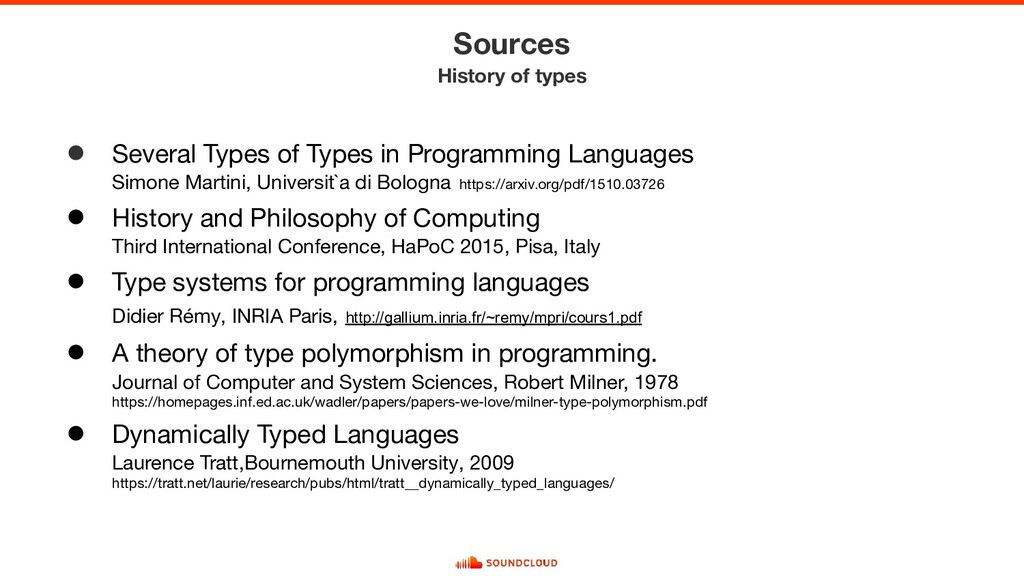 ● Several Types of Types in Programming Languag...