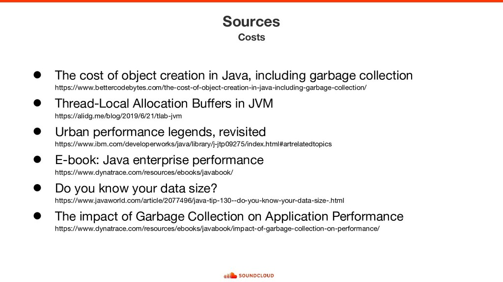 ● The cost of object creation in Java, includin...