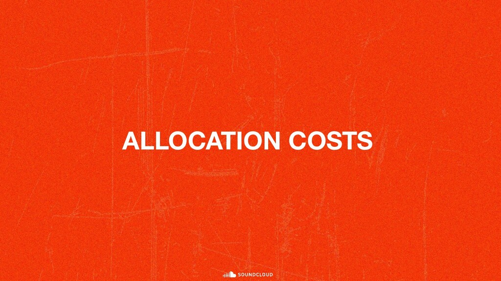 ALLOCATION COSTS
