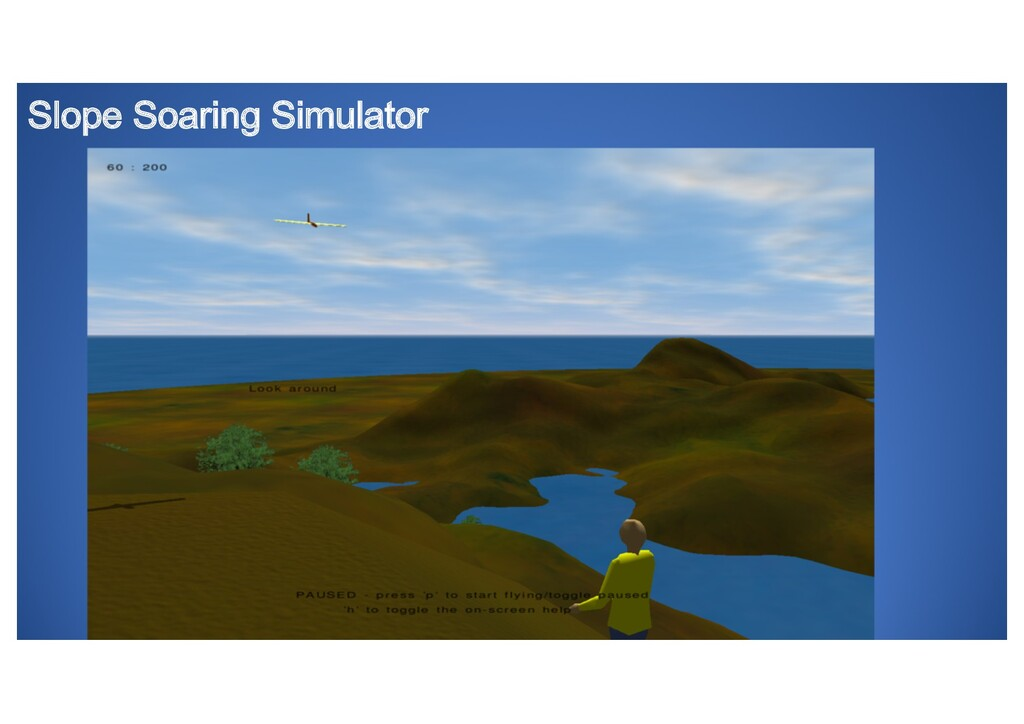 Slope Soaring Simulator