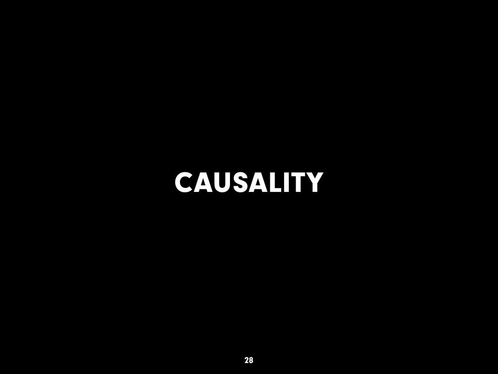 CAUSALITY 28