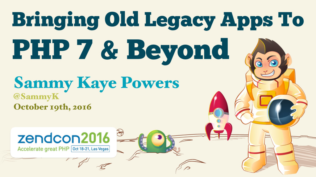 Bringing Old Legacy Apps To October 19th, 2016 ...