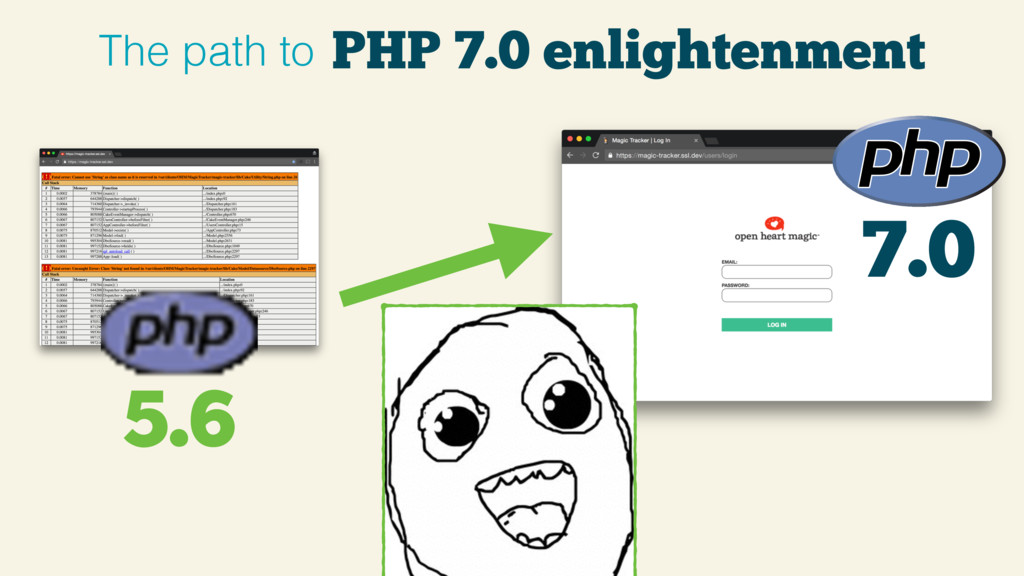PHP 7.0 enlightenment The path to 7.0 5.6