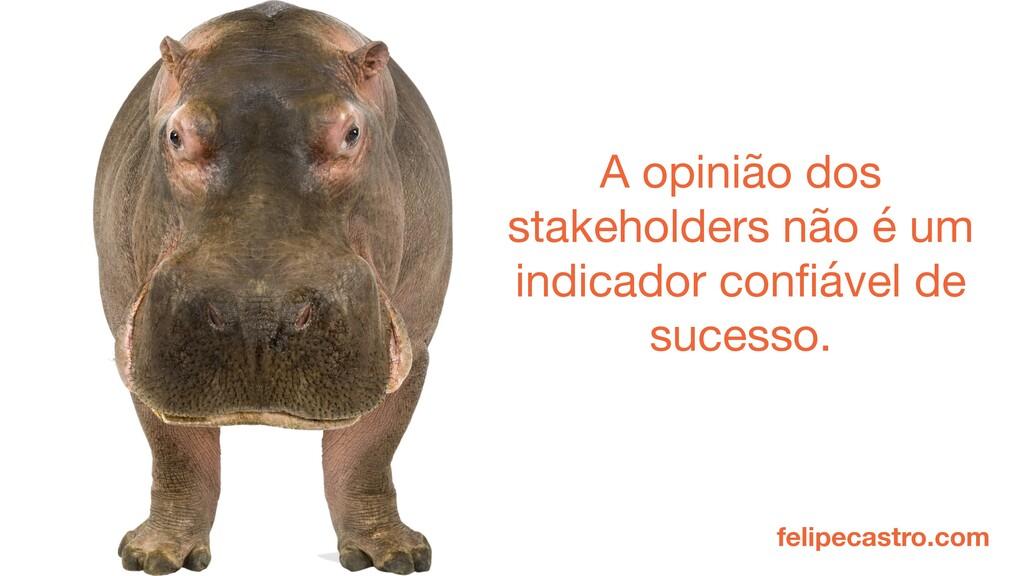 felipecastro.com A opinião dos stakeholders não...