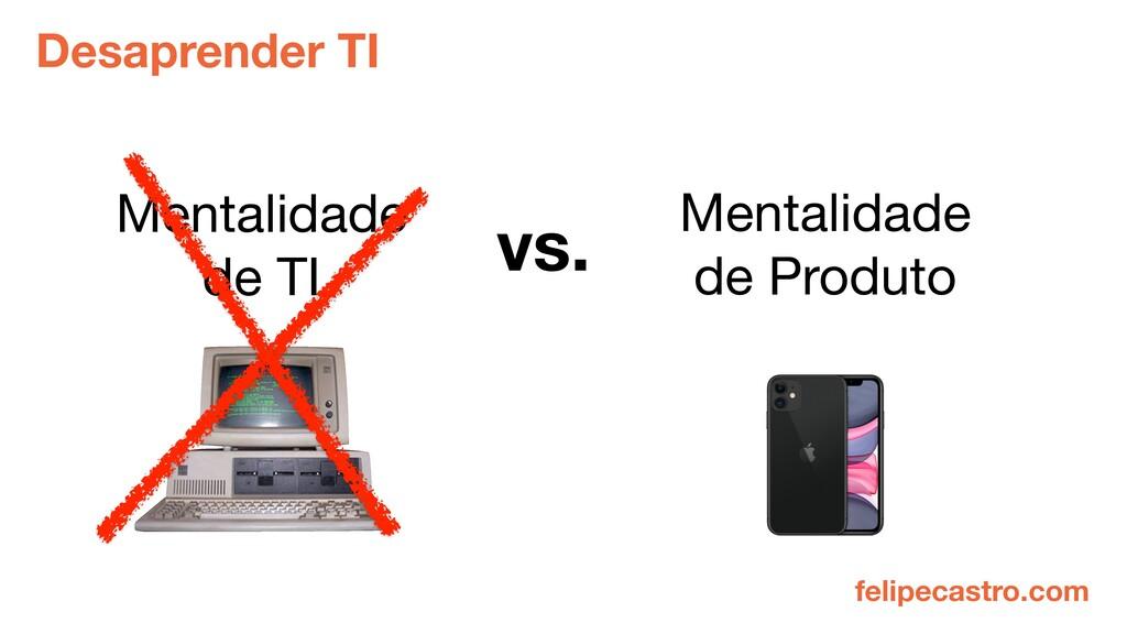felipecastro.com Mentalidade de TI vs. Mentalid...