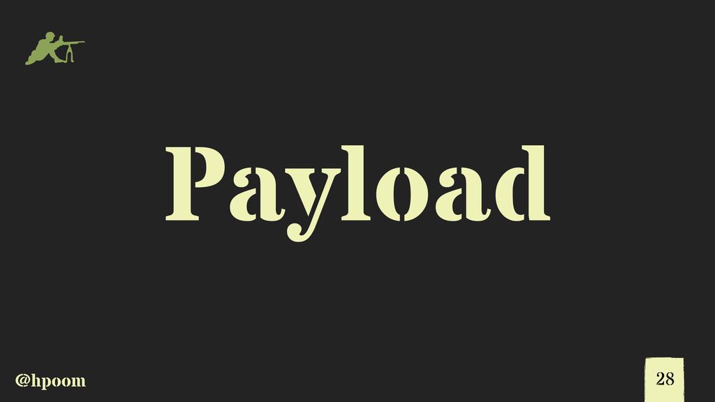 @hpoom m Payload 28