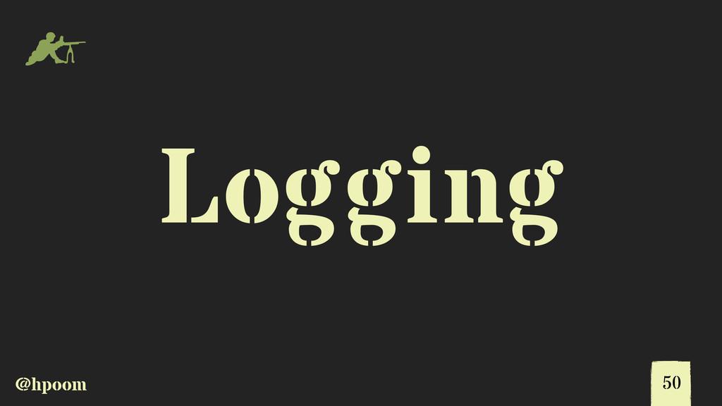 @hpoom m Logging 50