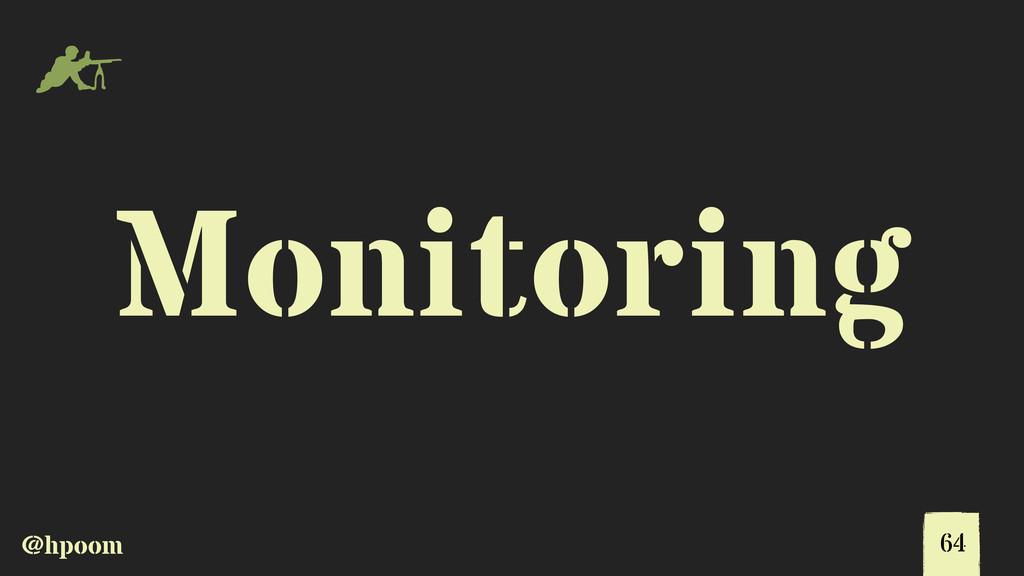 @hpoom m Monitoring 64