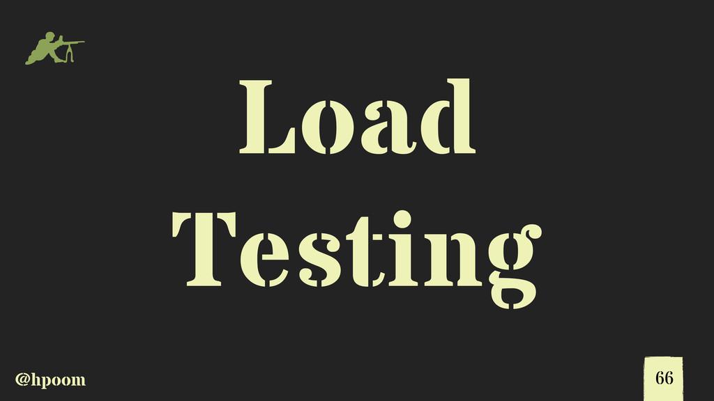 @hpoom m Load Testing 66