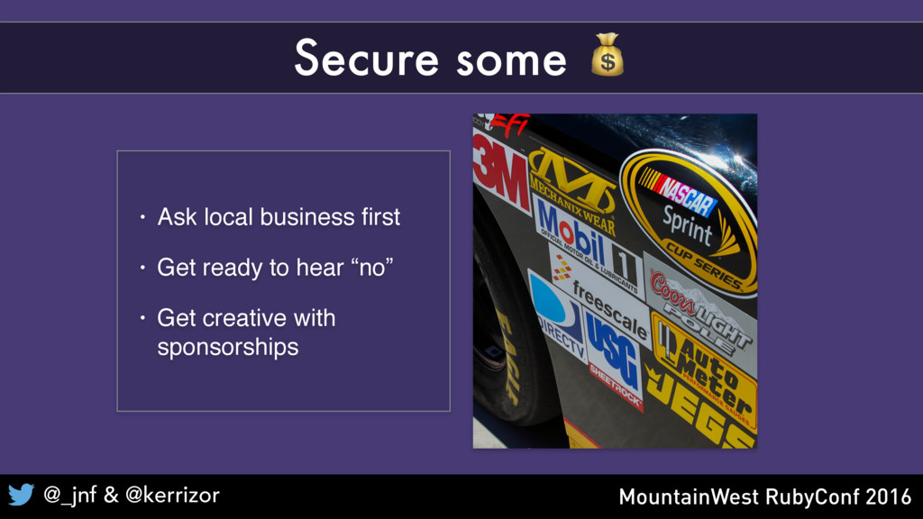 "• Ask local business first • Get ready to hear ""..."