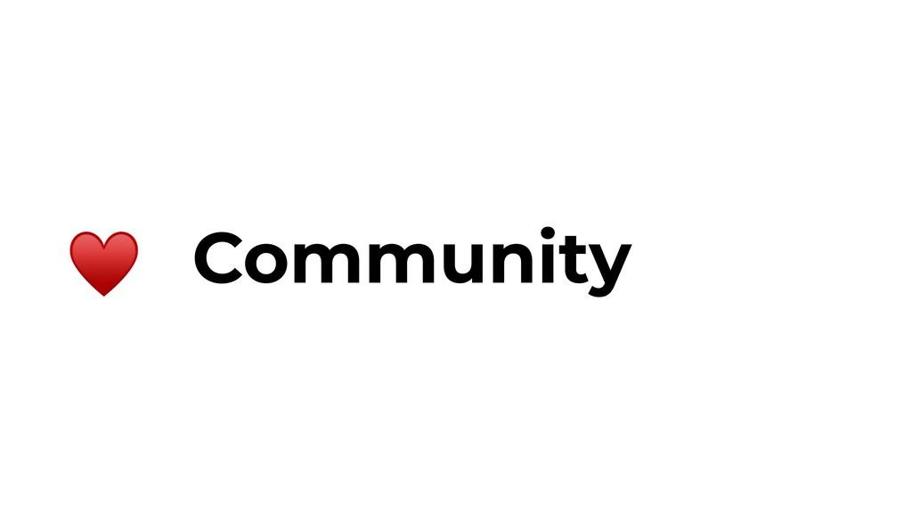 Community ♥