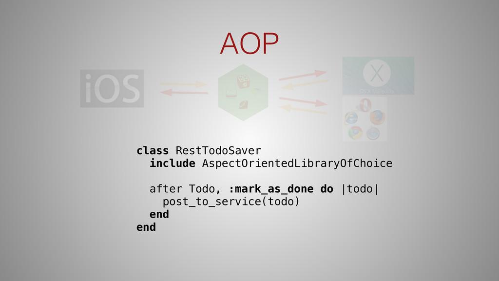 AOP class RestTodoSaver include AspectOrientedL...