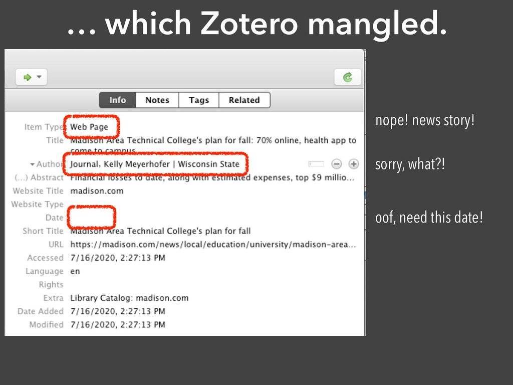 … which Zotero mangled. nope! news story! sorry...
