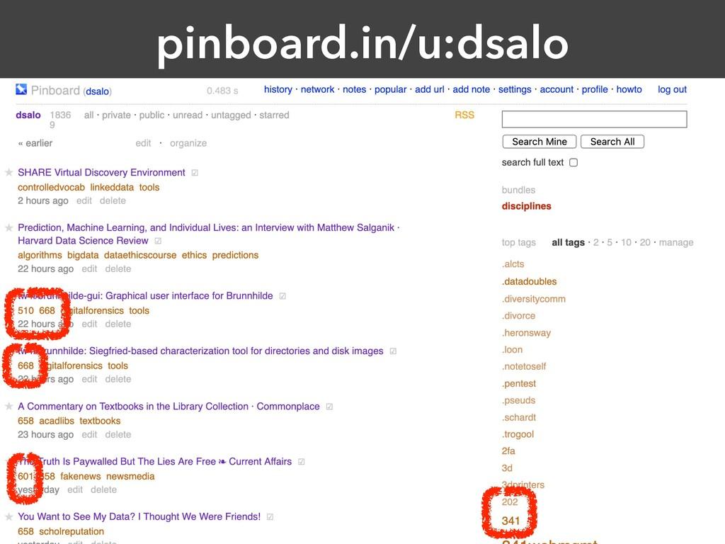 pinboard.in/u:dsalo