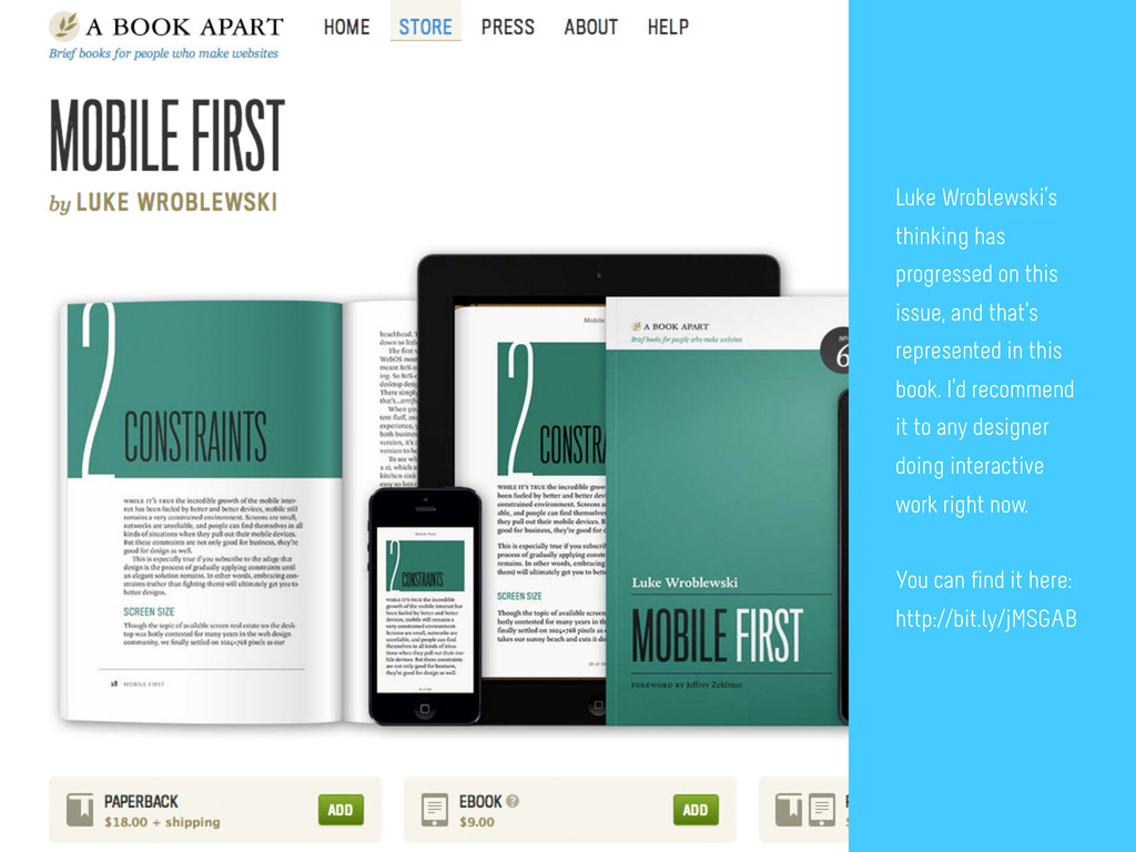 4 Wait, mobile first? This is an interesting po...