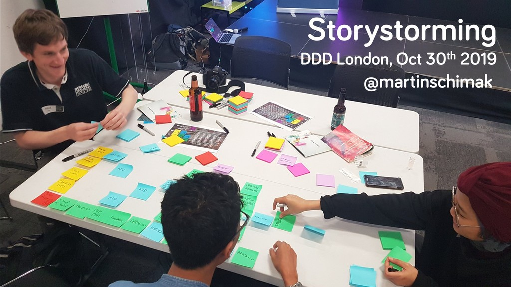 Storystorming DDD London, Oct 30th 2019 @martin...