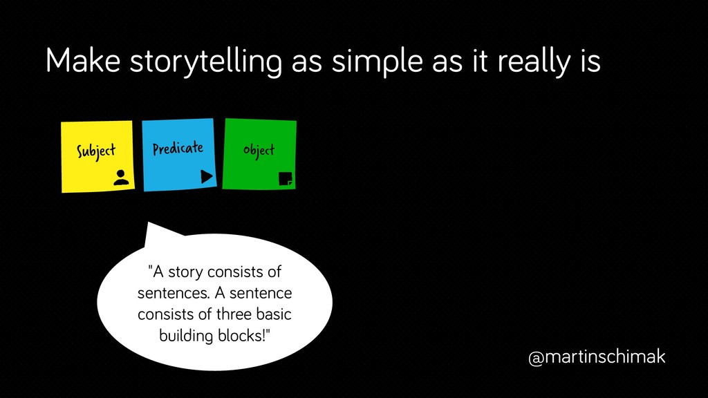 Make storytelling as simple as it really is @ma...