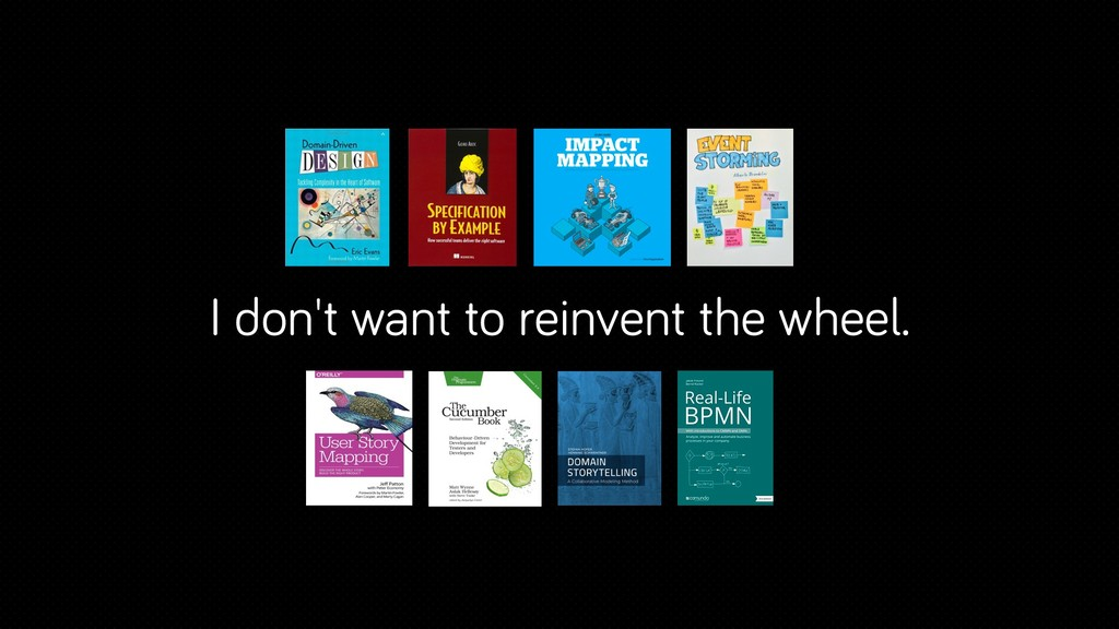 I don't want to reinvent the wheel.