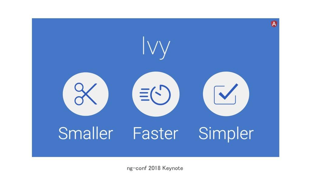 ng-conf 2018 Keynote