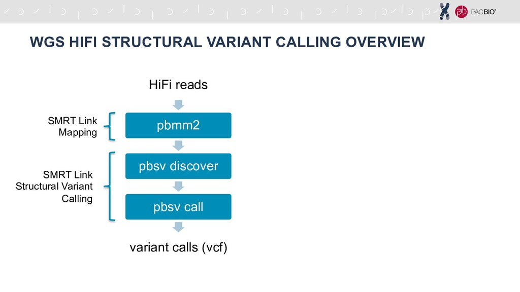 WGS HIFI STRUCTURAL VARIANT CALLING OVERVIEW Hi...