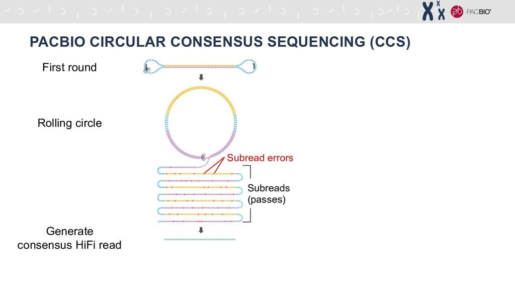 PACBIO CIRCULAR CONSENSUS SEQUENCING (CCS) Firs...