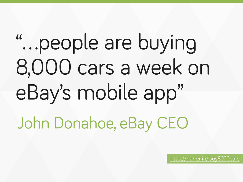 """""""…people are buyin 8,000 cars a week on eBay's ..."""
