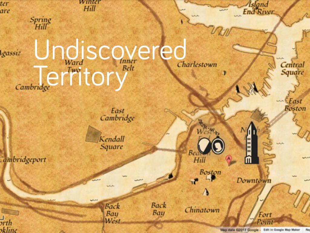 Undiscovered Territory