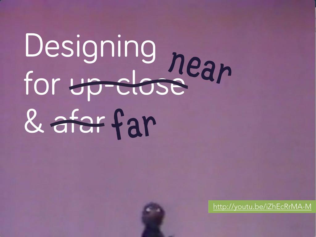 Desi nin for up-close & afar near far http://yo...