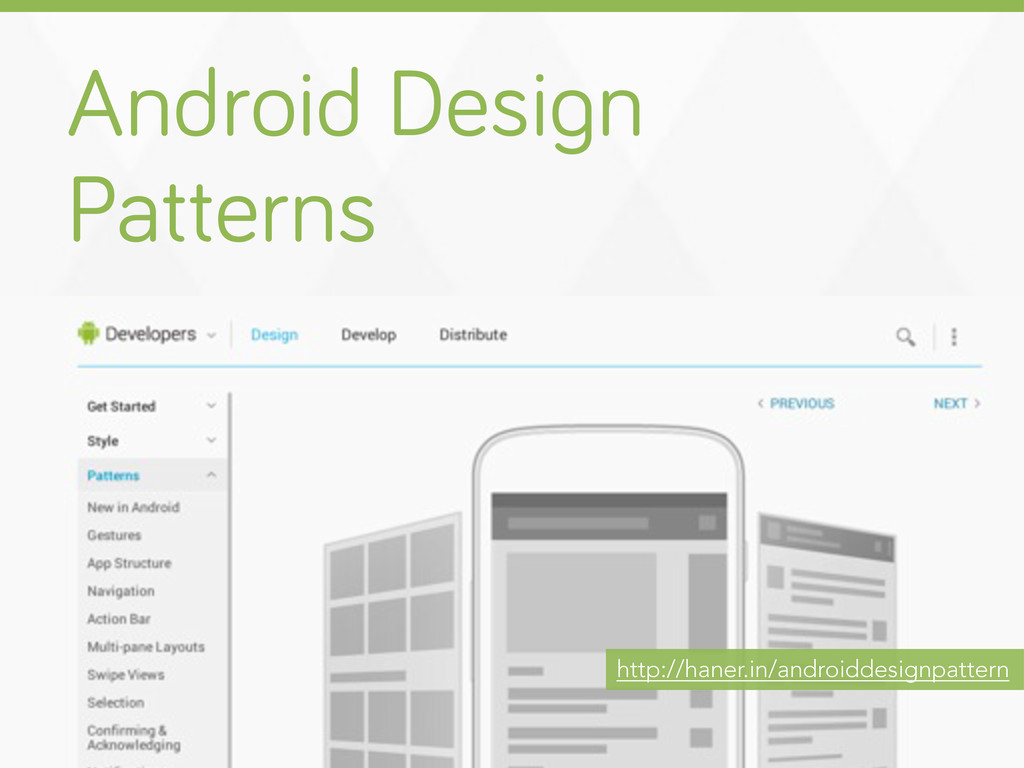 Android Desi n Patterns http://haner.in/android...