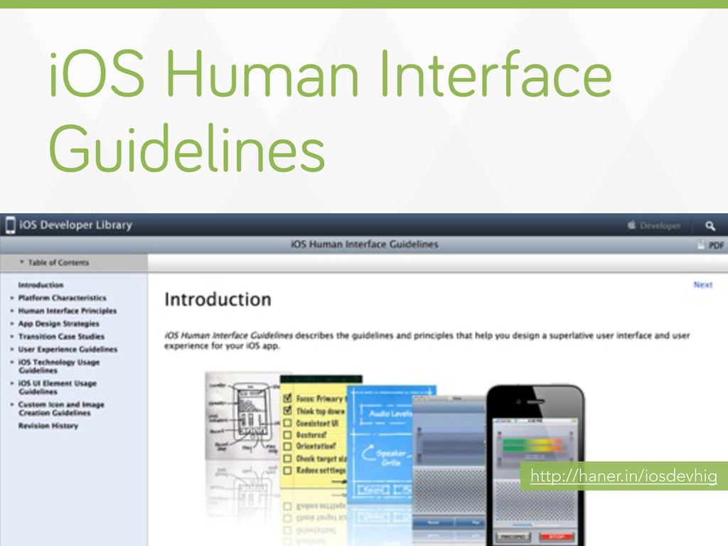 iOS Human Interface Guidelines http://haner.in/...
