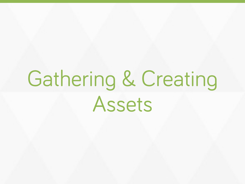 Gatherin & Creatin Assets