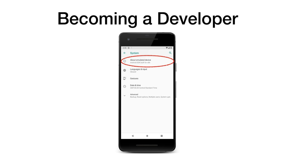 Becoming a Developer