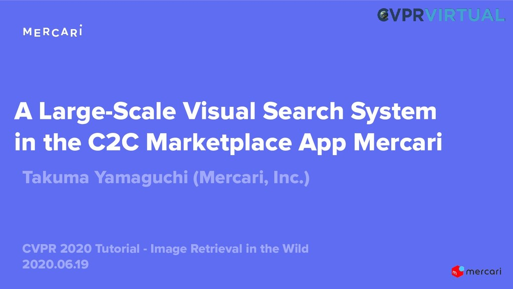 A Large-Scale Visual Search System in the C2C M...