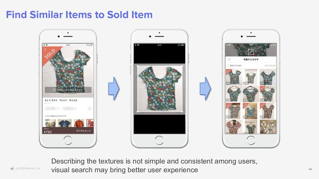 (c) 2020 Mercari, Inc. Find Similar Items to So...