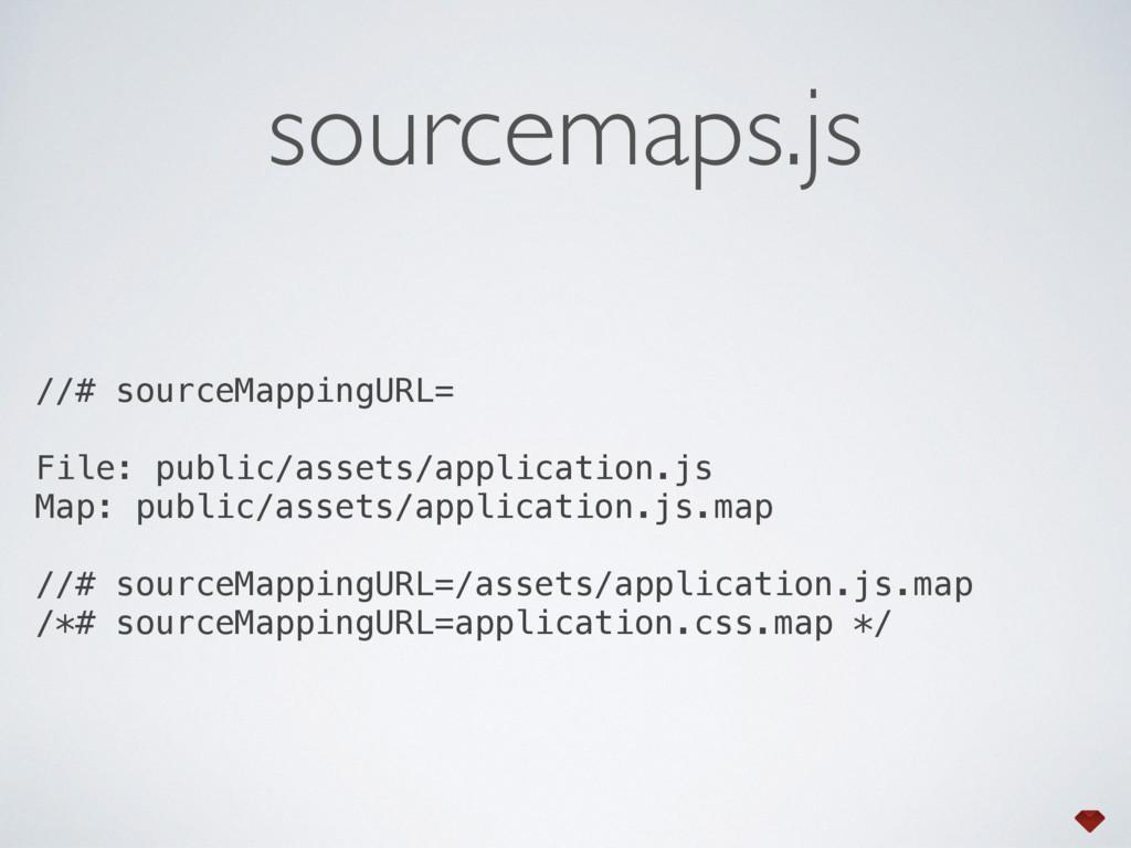 sourcemaps.js //# sourceMappingURL= File: publi...