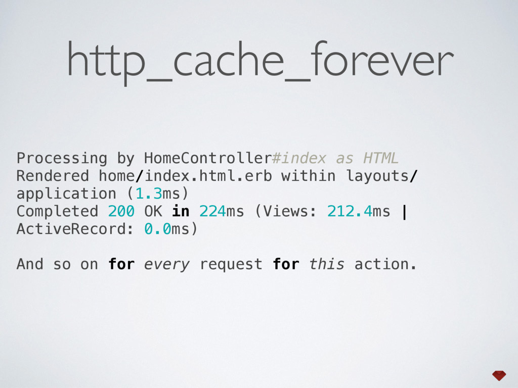 Processing by HomeController#index as HTML Ren...