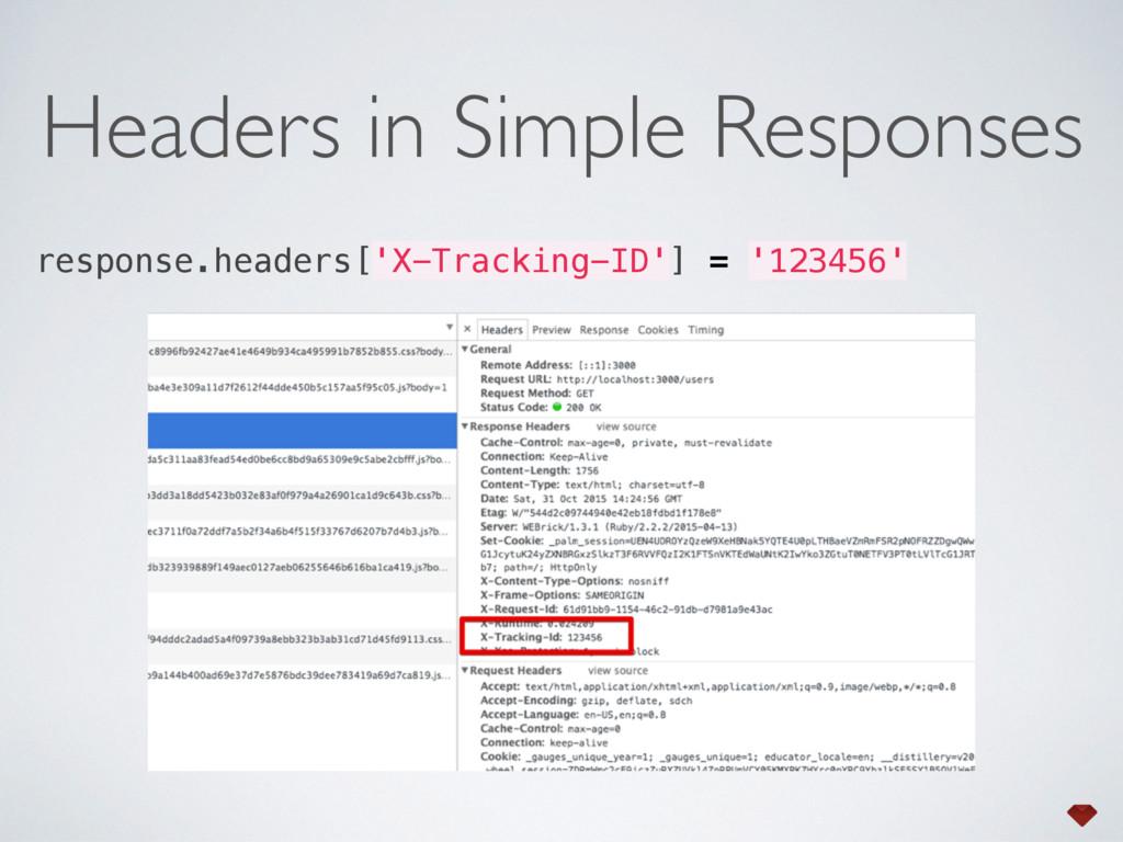 response.headers['X-Tracking-ID'] = '123456' He...