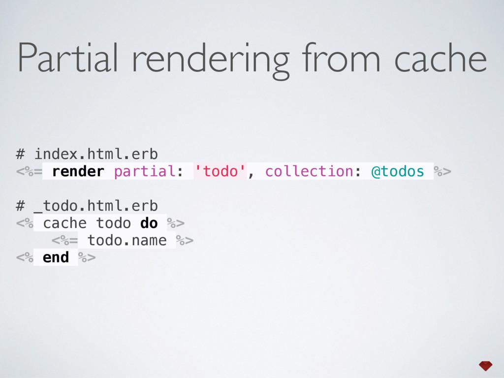 # index.html.erb <%= render partial: 'todo', c...