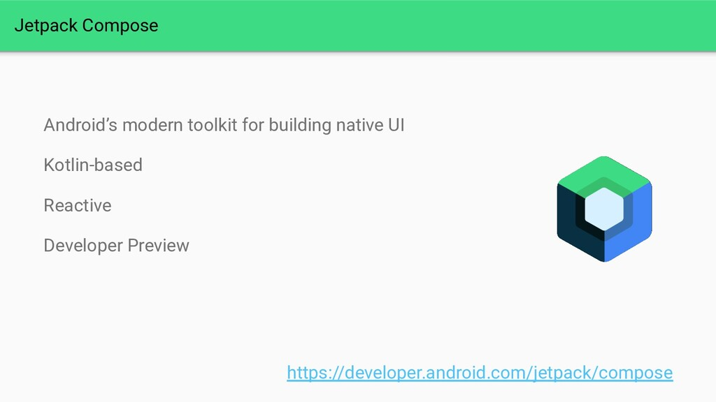 Jetpack Compose Android's modern toolkit for bu...