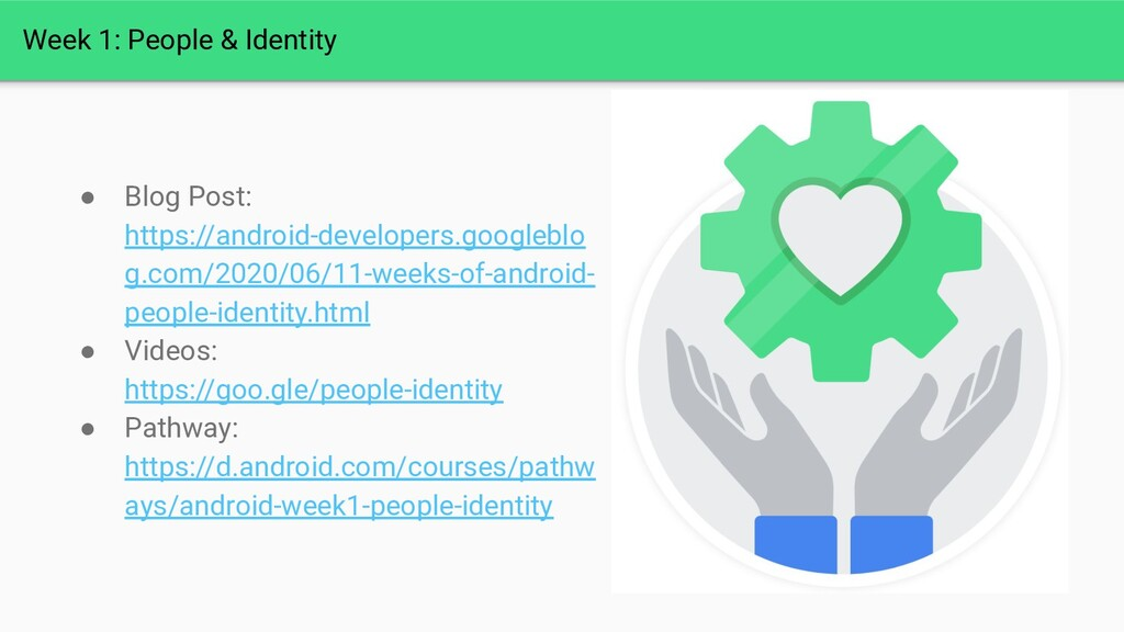 Week 1: People & Identity ● Blog Post: https://...