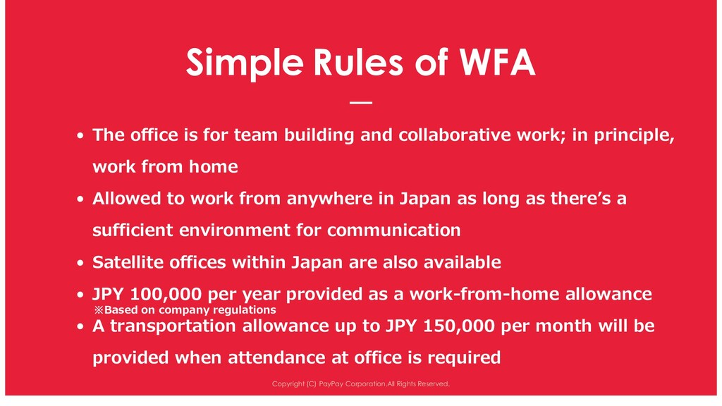 Simple Rules of WFA Copyright (C) PayPay Corpor...