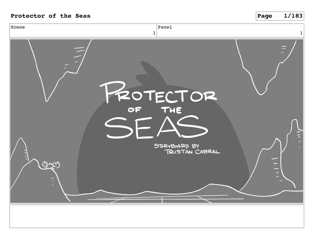 Scene 1 Panel 1 Protector of the Seas Page 1/183